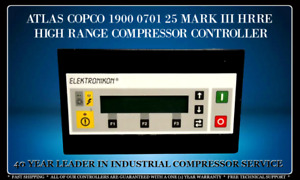 ATLAS COPCO 1900070125 ELEKTRONIKON PROGRAMMED WITH YOUR COMPRESSOR'S SETTINGS