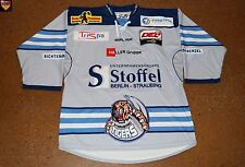 Straubing Tigers * 13/14 * No. 23 * Peter Flache * grey/third/authentic *