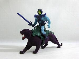 VINTAGE HE-MAN MOTU ✧ SKELETOR + PANTHOR ✧ MATTEL ACTION FIGURES E61