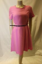 TU Pink Dress with Belt Size 12 BNWT Skater Style Frock