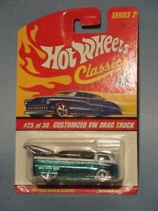 HOT WHEELS CLASSICS VW DRAG BUS! NEW! NM!