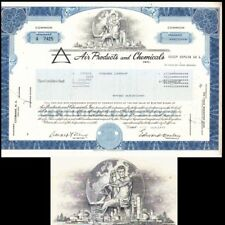 Air Products and Chemicals Inc 1977 Stock Certificate