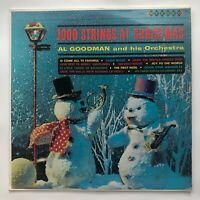 1000 Strings At Christmas Al Goodman And His Orchestra Record XMS-9 Vinyl LP