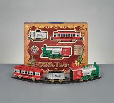 *23 Piece Christmas Classic Train Set Light Headlight Realistic Sound Effects*