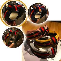 Turban Fashion Hair Accessories Hairband Headband For Women Striped Bee Style