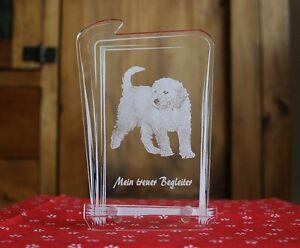 Fotogravur Hund Acrylglas Aufsteller Gravur +Text nach Wunsch Katze Haustier