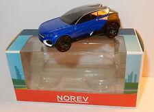 NOREV 3 INCHES 1/54 PEUGEOT CONCEPT CAR QUARTZ BICOLORE NOIRE BLEU IN BOX