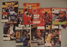 Professional Basketball Set - Sports Illustrated - 9 Magazine Set