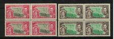 Southern Rhodesia - george vi - victoria falls - blocks Mint NH fresh coronation