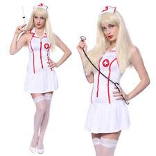 Déguisements blancs médecins et infirmières pour femme