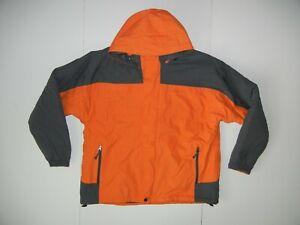 MICROSOFT Orange/Gray Warm TECH COMPANY WINTER JACKET Windows Work Coat Men's XL
