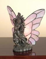 Meyda Tiffany 50427 Tiffany Glass Tiffany Single Light Specialty Table Lamp