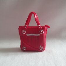 NEW Barbie Style Glam Luxe Stylin' Friends Fashionista Doll Red Tote Bag Handbag