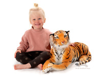 Deluxe Paws Premium Large Brown Tiger Cuddly Stuffed Soft Toy Plush 100 cm