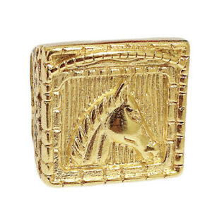 Horse Ring 18K Gold Polished Platinum Metal  Daily use - Gypsi Collection