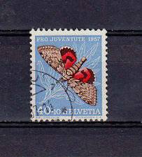 Schweiz  1957 Michel 652  Schmetterling , gestempelt ,  siehe Bild