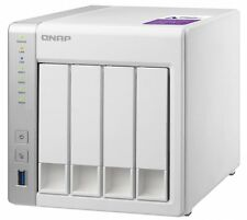 NEW QNAP TS-431P 4-bay Personal Cloud NAS with 12TB (4x3TB) WD RED NAS Drives