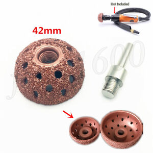 42mm Tungsten Buffing Wheel Coarse Grinding Pad Car Tar Tire Polish Cleaner Tool
