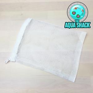 Zip Up Mesh Filter Media Bag for Aquarium External Cannister Filter - 15 x 20cm