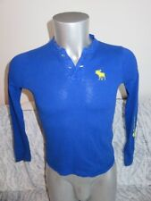 ABERCROMBIE superbe polo manches longues taille M (10 ans)
