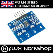 TTP224 4 Ch Touch Sensor Module Capacitive Arduino Keypad Flux Workshop