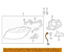 Chevrolet GM OEM 2007 Cobalt Headlight Head Light Lamp-Harness 15886612