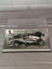 Michael Schumacher Collection Nr. 47, Mercedes GP F1 Team,1:43 Minichamps
