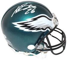 Miles Sanders Autographed/Signed Philadelphia Eagles Mini Helmet Bas 25960