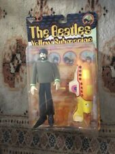 The Beatles Yellow Submarine George Harrison Action Figure with Yellow Submarine