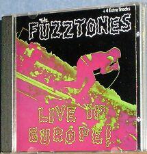 The Fuzztones - Live In Europe! (CD) Rare 1989 German Import...60's Garage Punk