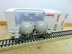 Märklin H0 46625 Spherical Container Car Cement - Transport NS Unrecorded Boxed