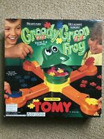 Rare Vintage Tomy GREEDY GREEN FROG electronic game WORKING and COMPLETE