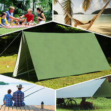 3X3m Rain Tarp Shelter for Canopy Hammock Outdoor Camping Beach Sun Shade