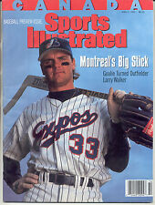 CANADA Sports Illustrated 1993 LARRY WALKER Montreal Expos Baseball NO LABEL