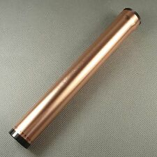 Fine Rose Gold Color COHIBA 1 fingers Metal Travel Cigar Tube Jar humidity HB21G