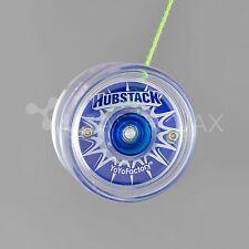 YoYoFactory Hubstack Yo-Yo - Clear/Blue + FREE STRINGS