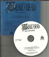 AND YOU WILL KNOW US BY THE TRAIL OF DEAD Isis Unveiled EDIT DJ PROMO CD Single
