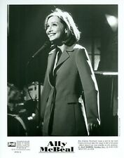 CALISTA FLOCKHART AS ALLY MCBEAL DOING STANDUP COMEDY ORIGINAL 1997 FOX TV PHOTO