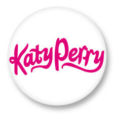 "Pin Button Badge Ø25mm 1"" katy perry I Kissed a Girl Rock'n'Roll"