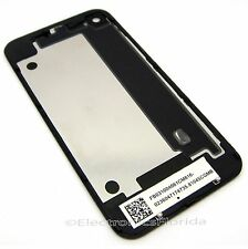 Black iPhone 4 Back Glass Rear Door Battery Case Cover GSM replacement