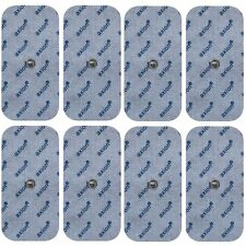 8 electrodos TENS 10x5cm para electroestimulador Vitalcontrol  Beurer Sanitas