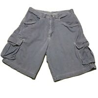 Vintage 90s Ripcurl Cargo Shorts Grey Size Mens 32