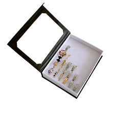 36 Slot Jewelry Ear Pin Ring Box Display Storage Tray Show Case Organizer Holder