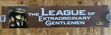League Of Extraordinary Gentlemen Mylar 5x25 Poster Rare Original