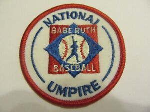 NATIONAL UMPIRE  BABE RUTCH BASEBALL PATCH