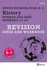 Revise Edexcel GCSE (9-1) History Weimar and Nazi Germany Revision Guide and Workbook: (with free online edition) by Victoria Payne (Mixed media product, 2017)