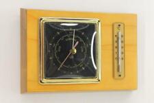 Hydrometer Thermometer Vintage Mid Century Wanddeko Dekoration Wetter