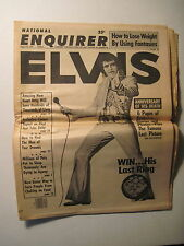 National Enquirer 8-22-1978. Elvis Presley- Anniversary Of His Death!