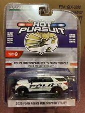 Greenlight Holt Pursuit 2020 Ford Police Interceptor Utility Show