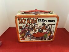 Fat Albert and the Cosby kids vintage metal lunchbox
